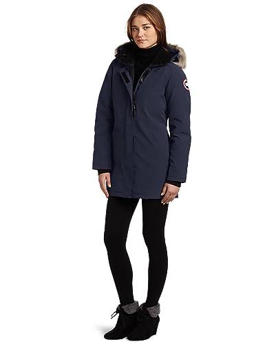 Canada goose victoria parka navy womens