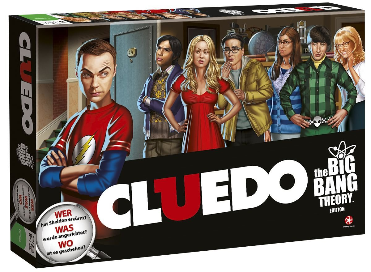 Big Bang Theory The Cluedo Brettspiel