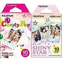 Fujifilm Instax Mini Monopack de 10 Films pour développement instantané Shiny Star & Fujifilm 70100139614 Instax Mini…