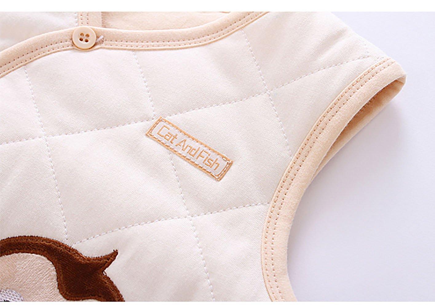 ThreeH Chaqueta de bebé Caliente Chaleco de Invierno de algodón BR12 3