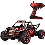 MK-H1801B Geländewagen High Speed 20 km / h Maßstab 1:18 4x4 Schnelle Race Truck, 2,4 GHz Fernbedienung 4WD RC Car Hobby -Rot