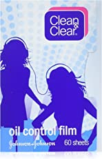 Clean & Clear Oil Control Film Oil-Absorbing Sheets, 60 Sheets - Set of 3