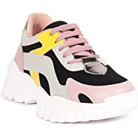 ZAPATOZ Women's Stylish Lightweight | Casual Shoes | Sneakers