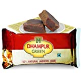 Dhampure Speciality Natural Pure Jaggery Gur|Gud from Sugarcane - Chemical Free (Pack of 80 - 17.6Kg)