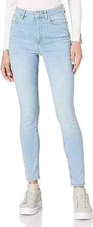 NA-KD Skinny High Waist Jeans Femme