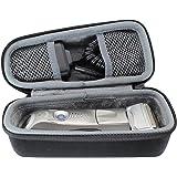 para Braun Series 5 7 9 5030s 5040S 720s-6 7840s 9296cc 9240s 9290cc Afeitadora eléctrica Viajar Difícil Caso Bag box por VIV