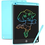 HOMESTEC Tavoletta Grafica LCD con Display Colorato 8,5 Pollici, Tavoletta Scrittura da Disegno Cancellabile con Scheda Elett