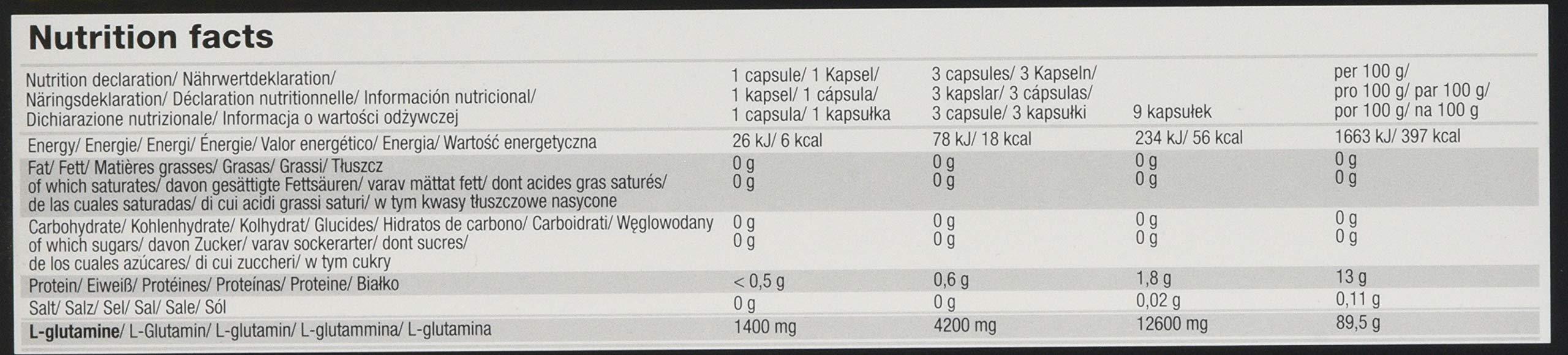 71bG7HfStSL - Olimp Labs L-Glutamine Capsules, Pack of 120 Mega Capsules 24757
