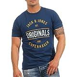 Jack & Jones Jormusai tee SS Crew Neck Camiseta para Hombre