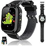 Kinderen Smart Watch 14 Games Muziek Stappenteller Dual Camera Wekker Zaklamp Kinderhorloge Jongens en meisjes Touchscreen Ki
