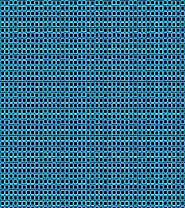 Print Masti Designer Back Case Cover for BlackBerry Bold Touch 9900 :: BlackBerry Dakota :: BlackBerry Magnum (Blue Border Black Design )