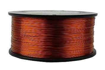 Temco 8 bis 32 AWG Kupfer Magnet Magnetverschluss Draht – 200 °C ...