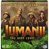 Jumanji 3 The Next Level, Gioco da Tavolo Falcon Jewel Battle Game per Bambini, Famiglie e Adulti