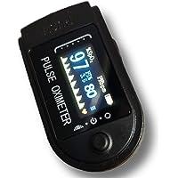 Tamizhanda P-01 Pulse Oximeter-Black. Long lasting DURACELL battery inside. 6 month WARRANTY.