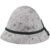 Cappello Tradizionale - Cappello da Montagna in Feltro di Lana - Cappello da Caccia con Cordoncino - Cappello da Pastore…