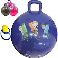 Dravizon Jumping Ball for Kids Ages 3-6 Year Hop-Pity Hop Ball, Hopping Ball, Bouncy Ball with Handles, Sit & Bounce…