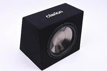 Clarion SB3020X Subwoofer-Kiste Boom Box mit Max. 1.000 Watt Musikleistung 30cm