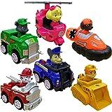 Marshall Rocky Rubble Skye Zuma Chase's Patrol Cruiser Vehicle con figura coleccionable, para niños de 3 años en adelante