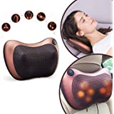 THORWAL Electric Car Massager Pillow, Electric Infrared Heating Health Care Vibration Relaxation Therapy, Home & Multifunctio