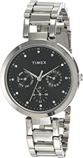 Timex E Class Analog Black Dial Women's Watch   TW000X205