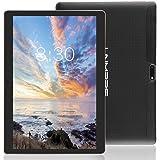 LNMBBS Tablet 10 Zoll HD - Android 7.0, 2GB RAM, 32GB eMMC, WiFi, 3G - Dual SIM, Bluetooth 4.0, GPS, 1.3GHz Quad Core (Black)