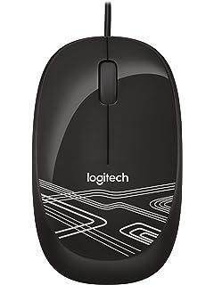 Logitech M105 Mouse  Black
