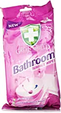 Greenshield Bathroom Surface Wipes - Pack of 50
