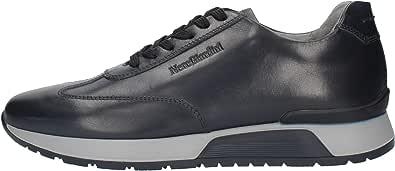 Sneackers Uomo NeroGiardini I001724U Stringata in Pelle Nero o Blu Una Calzatura Comoda Adatta per Tutte Le Occasioni. Autunno Inverno 2020-2021.