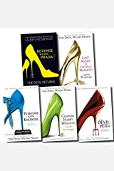 The Devil Wears Prada Collection Lauren Weisberger 5 Books Set (Revenge Wears Prada: The Devil Returns, Chasing Harry Winston, Everyone Worth Knowing, Devil Wears Prada, Last Night at Chateau Marmont) Paperback