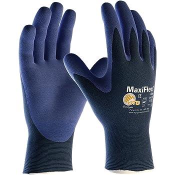 MaxiFlex® Elite Nylon Strickhandschuhe / Montagehandschuhe 34-324 Größe M(8)