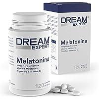 Dulàc - Melatonina - 120 cpr - Melatonina (1mg) + Triptofano (75 mg) e Vitamina B6 (1,4 mg) - AZIONE RAPIDA - Notificato…