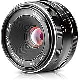 Meike 25mm f/1.8 Large Aperture Wide Angle Lens Manual Focus Lens for Mirrorless Cameras (MK-25mm-F/1.8-Emount)