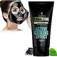 UrbanGabru Charcoal Peel Off Mask remove blackheads & whiteheads | deep skin purifying cleansing (60 gm)