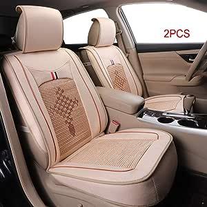 Autositzbezug 2 Stücke Auto Zubehör Stuhl Schutzhülle Kissen Für Fiesta Ecosport Focus C Max Mondeo Ranger Escort Streetka Edge Ateca Auto