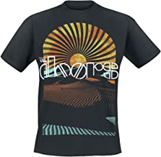 The Doors Day Break T-Shirt schwarz