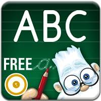 Buchstaben Spielplatz FREE. Die Kinder-App zum Buchstaben lesen und schreiben Lernen.