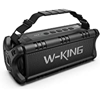 W-KING Cassa Bluetooth, 50W(Picco 70W) Altoparlante Bluetooth Portatili, 24 Ore di Riproduzione Speaker Bluetooth…