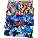 Générique Tissus Coton pour Couture 5 Pièces Tissus Patchwork 20x25CM, Tissus Coton Couture Au Metre en Motif De Style Japona