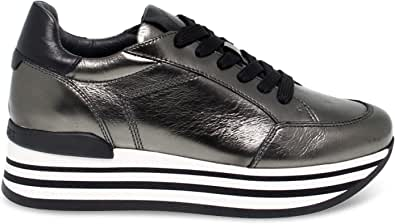Janet Sport Luxury Fashion Donna JSPO44709 Bronzo Sneakers   Autunno Inverno 19