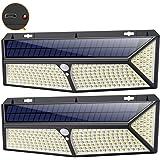 Lampe Solaire Extérieur,[ 2020 le Plus Brillant 288 LED - 2500 lumens] iPosible Lumière Solaire Etanche éclairage…