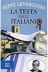 La testa degli italiani Paperback