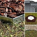 20 Meter NTA Rasenkante Beeteinfassung Beetumrandung schmal 180/1000 Mähkante Metall von NTA auf Du und dein Garten