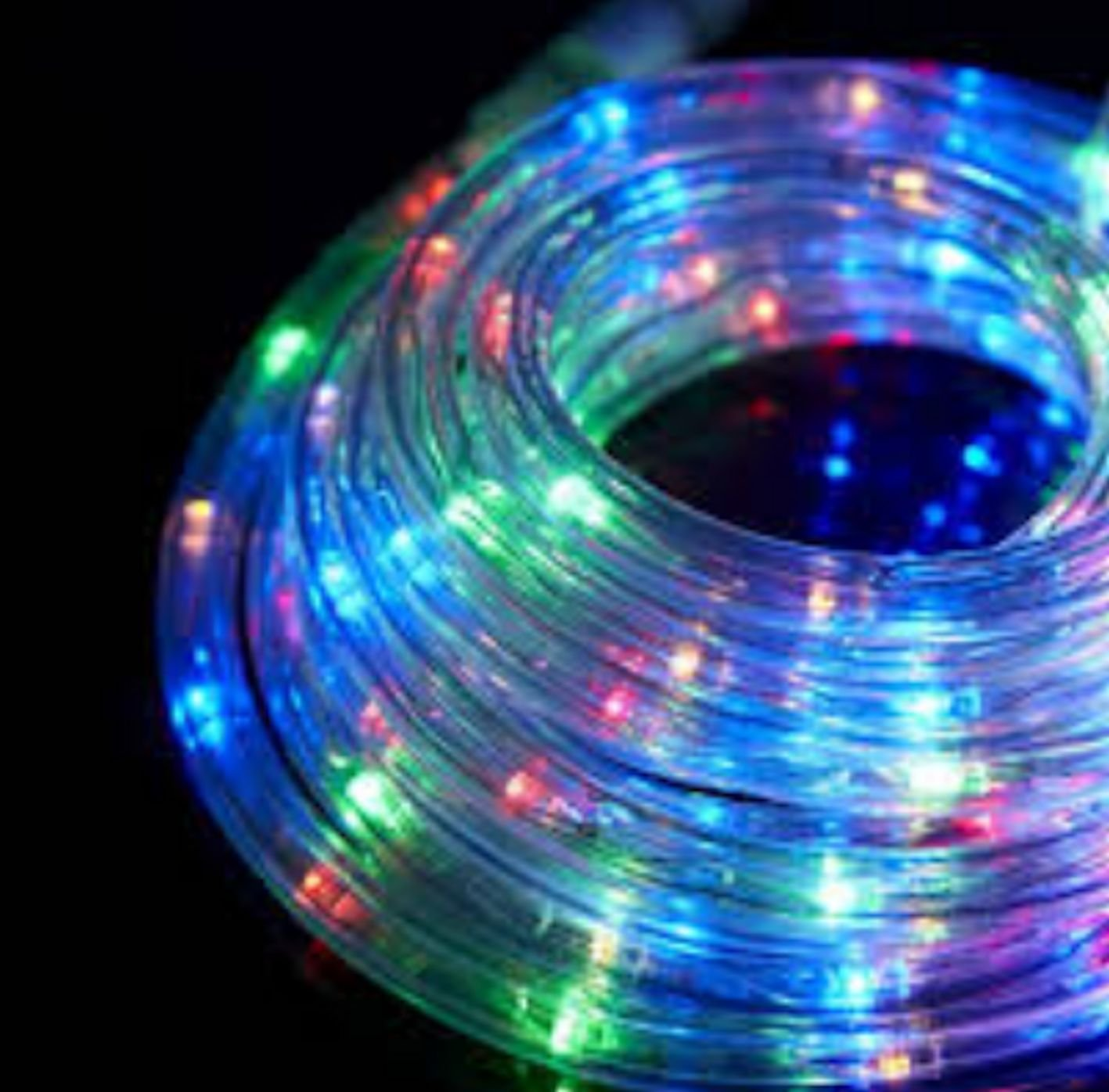 Ex-Pro® 20m Static Super Bright ICE White LED Rope: Amazon.co.uk ...