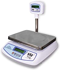 Taj+ 30Kg Digital Table Top Weighing Scale For Retail Shops, Kirana Stores, Chicken Shops Etc.
