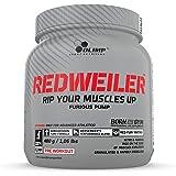 Olimp Redweiler före träning 480 gram röd stans