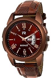 Redux Analog Linear Designer Dial Men's   Boy's Watch