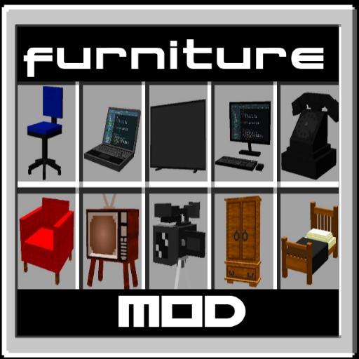 Furniture Mod for PE (Minecraft Skins)