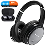 Bluetooth Wireless Kopfhörer Noise Cancelling - Hiearcool L1 HiFi Stereo Drahtlose Headset Over Ear mit Mikro...