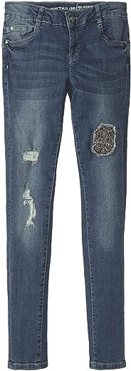 TOM TAILOR für Mädchen Jeanshosen Jeans im Destroyed-Look