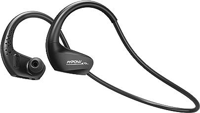 Mpow Bluetooth Kopfhörer, IPX6 Wasserdichte Sport Kopfhörer Kabellos, 11 Stunden Spielzeit/Bluetooth 4.1/HD-Mikrofon, Sportkopfhörer Joggen/Laufen, für iPhone Samsung Galaxy Android HTC Huawei iPad usw